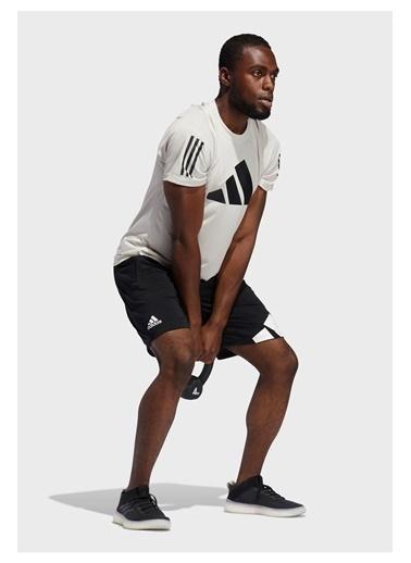 adidas Adidas Erkek Koşu - Yürüyüş Şort 4K 3 Bar Short Gl8943 Siyah